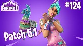 Patch Notes V5.1 | New Mythic Heroes, Map, and Birthday Llamas | Fortnite #124