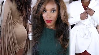 FALL FASHION HAUL 2015 | Jackie Aina