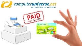 Оплата картой Сбербанка на Computeruniverse.net(, 2016-12-27T09:58:24.000Z)