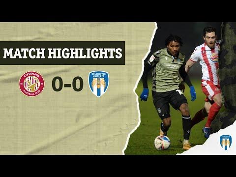 Stevenage Colchester Goals And Highlights