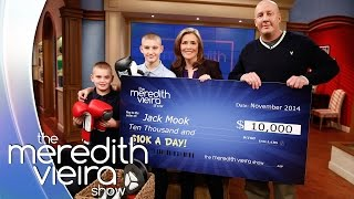 $10K A Day - Detective Jack Mook & Sons! | The Meredith Vieira Show
