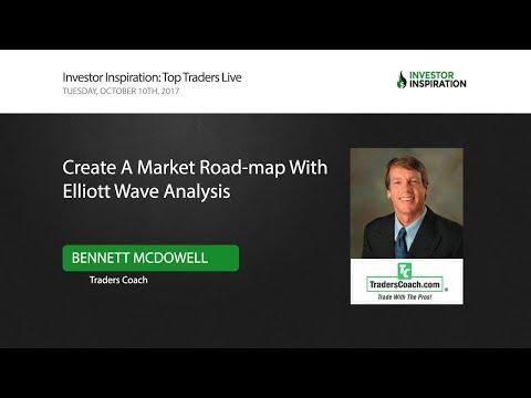 Create a Market Road-map With Elliott Wave Analysis   Bennett McDowell