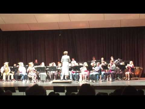 Cushing Middle School Beginning Band Concert 2016