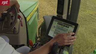 Jazda automatyczna ciągnikiem John Deere - test redakcji miesięcznika RPT