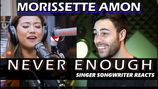 MORISSETTE AMON - Never Enough | Singer Songwriter REACTION | The Greatest Showman Cover on Wish Bus