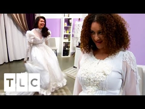 These Daughters Aren't Impressed By Their Mum's Vintage Dresses! | Something Borrowed, Something New
