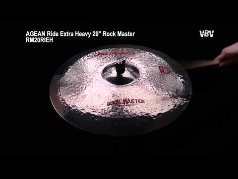 "20"" Ride Extra Heavy Rock Master video"