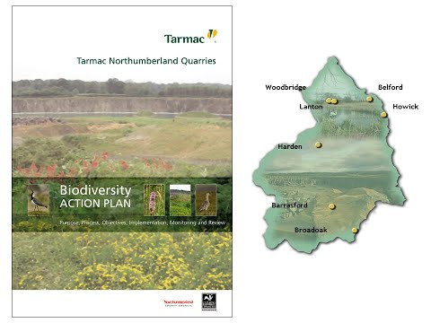 Tarmac - Northumberland Biodiversity Action Plan 2006