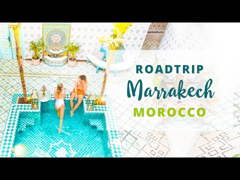 ROADTRIP TO MARRAKECH -  Morocco Travel Vlog