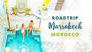 ROADTRIP TO MARRAKECH -  Morocco Travel Vlog