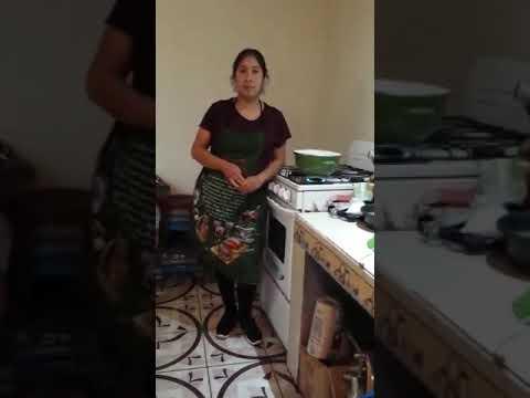 Cuñada De Delmy Nos Enseña A Preparar Lentejas 1/3