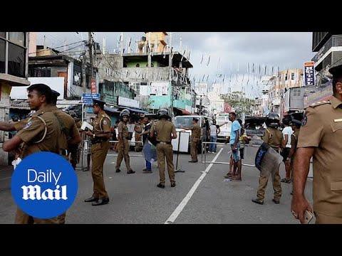 Sri Lankan police evacuates Colombo residents after van eplodes