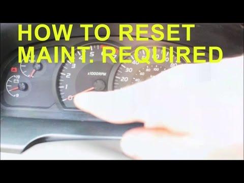 how to reset toyota tacoma maintenance light autos post. Black Bedroom Furniture Sets. Home Design Ideas