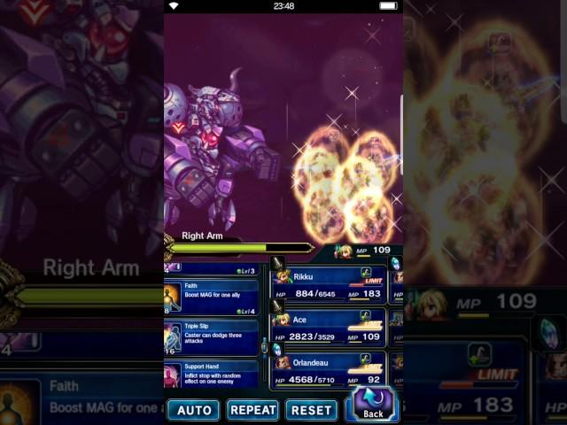 FFBE GL Trial - Machina of Destruction ELT All Missions (Aigaion ...