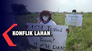 Petani Protes Lahan Pertanian Ditembok