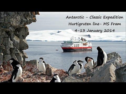 Stunning Antarctic Peninsula cruise-  MS Fram, Hurtigruten 4-13 Jan 2014