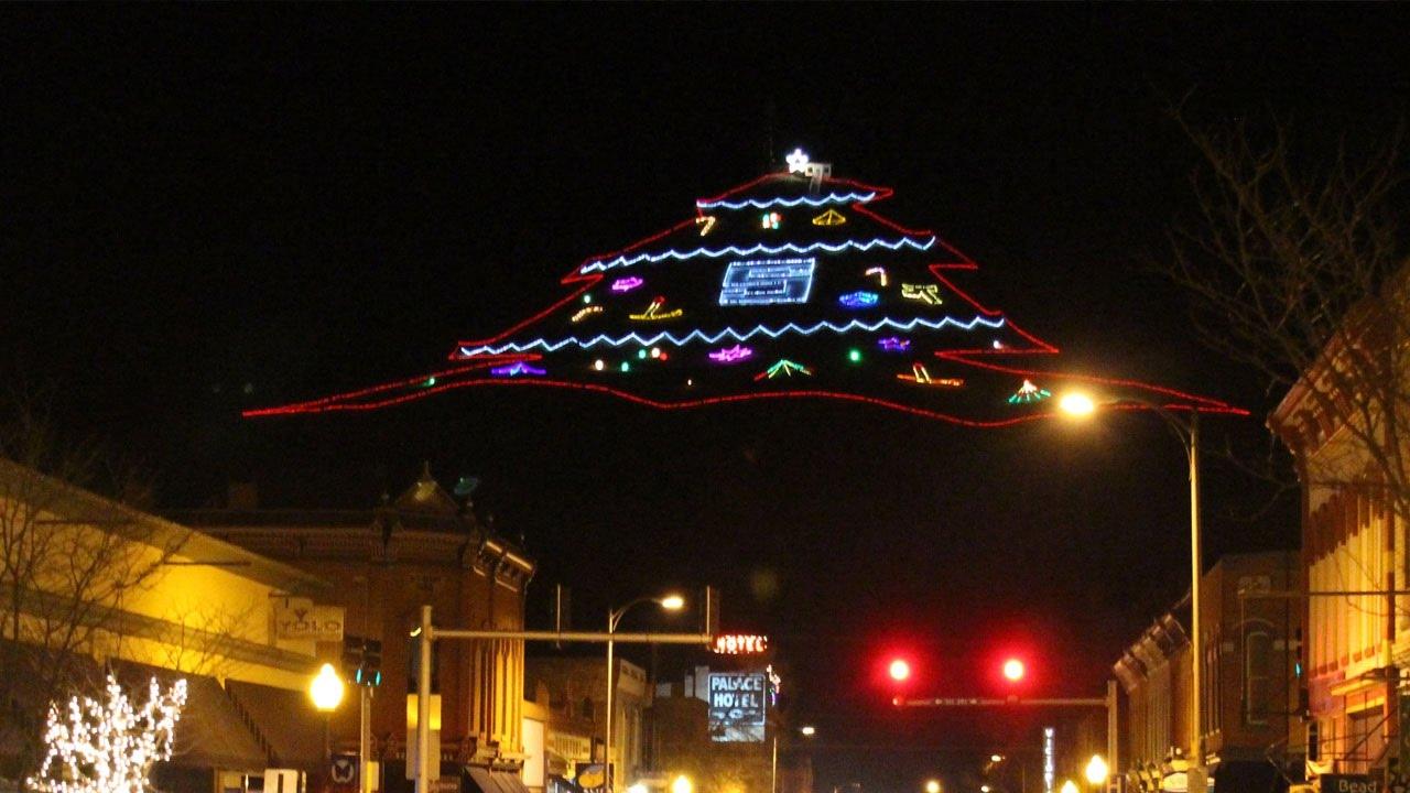 salida colorado parade of lights