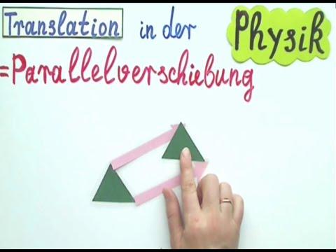 Translation In Der Physik Einfach Erklärt