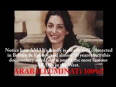 "AMAL CLOONEY: TRANS-GENDER HOAX ""Pregnancy""/ARAB ILLUMINATi EXPOSED!!!"