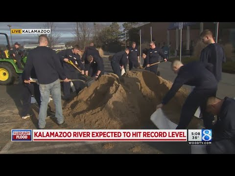 Kalamazoo River expected to be hit record level