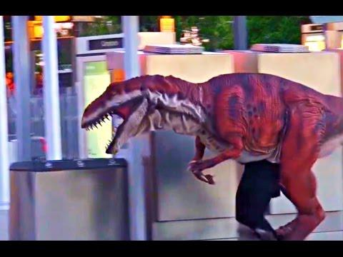 Dinosaur In Real Life Prank (Funny Videos)