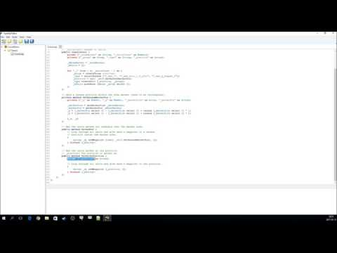 Creating and using an SQX Crowd class in Arma 3 using the TypeSqf Editor.
