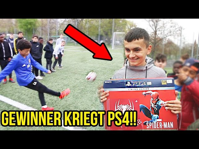 Extreme Fussball Challenge - Gewinner kriegt limitierte PS4!!
