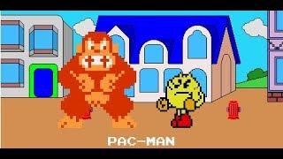 DK Bizzare Plátano Aventura (Pac-Man Parte), pero es Sprite Animado