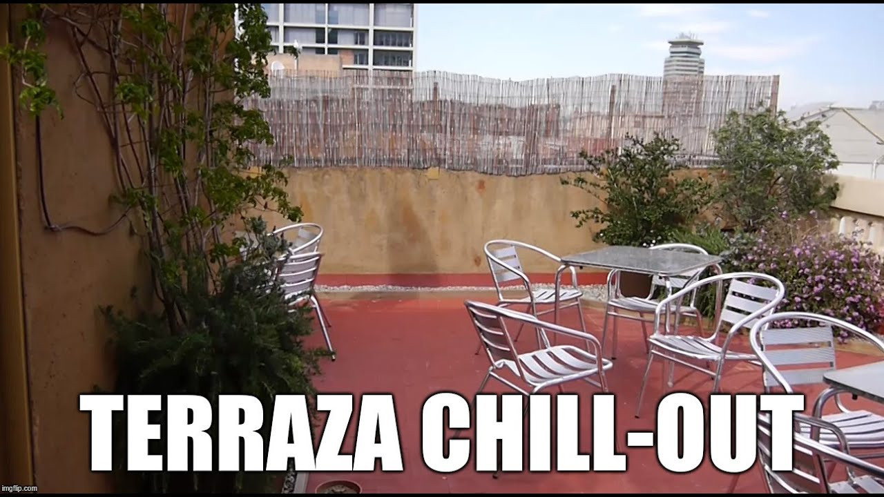 Terraza chill out en barcelona youtube for Terraza chill out