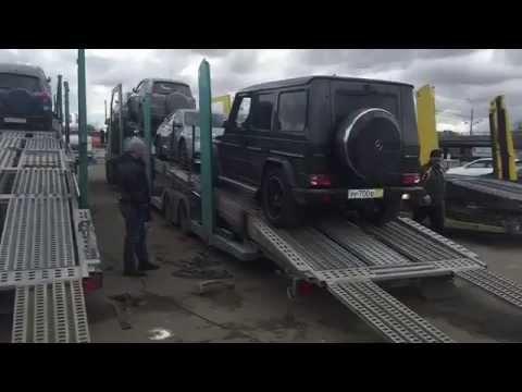 Перевозка автомобилей автовозами из Казахстана в Москву и обратно