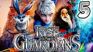 Rise of the Guardians Walkthrough Part 5 (PS3, X360, WiiU, Wii) No Commentary