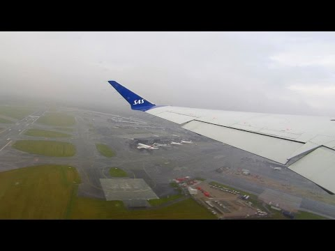 ONBOARD SAS CRJ-900 | BUZZING Takeoff from Copenhagen Airport (CPH) [Full HD]