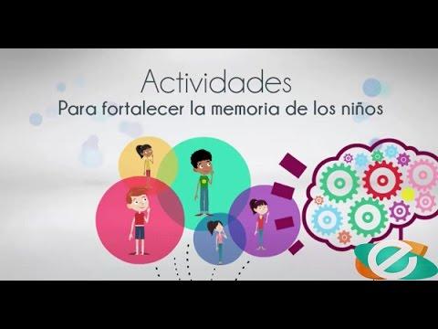 Actividades para fortalecer la memoria de los ni os youtube - Actividades para ninos pequenos ...