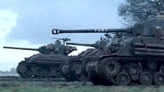 WORLD OF TANKS / FURY Crossover Trailer