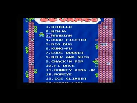 Computer Video TV Game DY-636 Game list, 1990