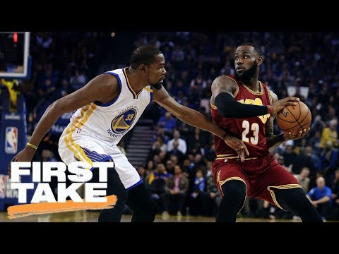 Cavaliers-Warriors NBA Finals Predictions | First Take | June 1, 2017