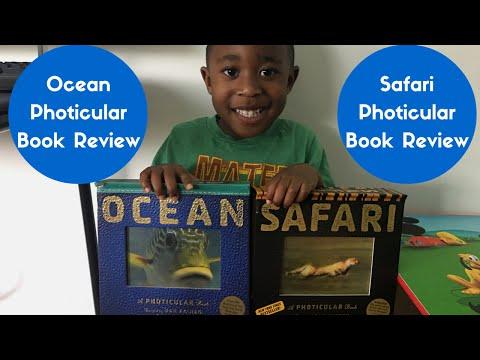 Kidz Korner: Ocean & Safari Photicular Book Review