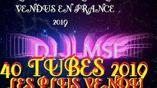 40 TUBES LES PLUS VENDUS EN FRANCE 2019