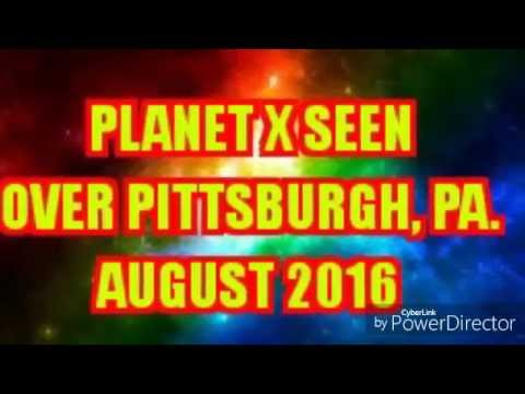 NIBIRU over Pittsburgh, Pa.  August 25th 2016