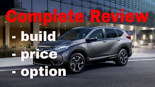 2018 Honda CR-V SUV - Build & Price Review (2 of 5 Best Cars for Driving with Uber or Lyft )