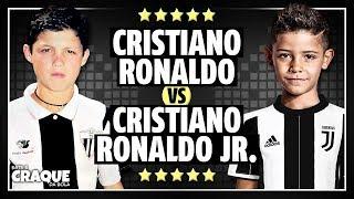 CRISTIANO RONALDO vs CRISTIANO RONALDO JR  ● Both With The Same Age