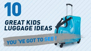 Ride On Kids Luggage // New & Popular 2017