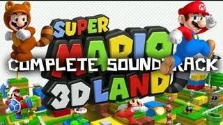 Super Mario 3D Land COMPLETE SOUNDTRACK