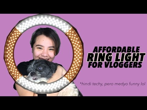 "AFFORDABLE LED RINGLIGHT in the Philippines! Apex 18"" LED Ring Light In-Depth Review 