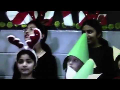 MB Sanford Elementary School - *North Pole Musical* 2013 Part 1