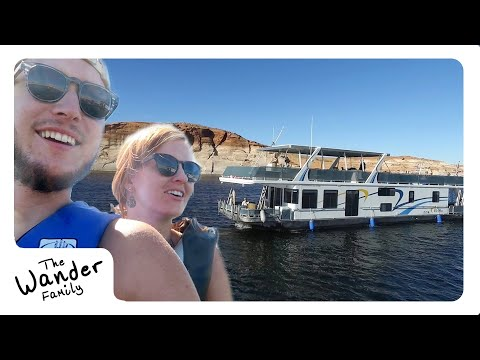EPIC HOUSEBOAT FAMILY VACATION!! ⛴ Lake Powell