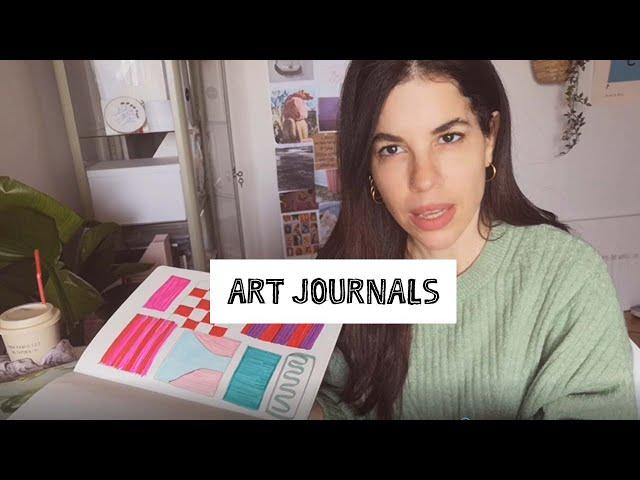 Spitishoot art journals