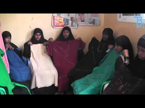 Dr Nazir Ahmed Best Tutors visit to Somali Land   April 2015 Visiting Widow Centre