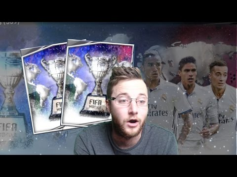 FIFA Mobile Club Champions Bundle Opening with Elite Club Champion Topper! Plus Club Champion Packs!
