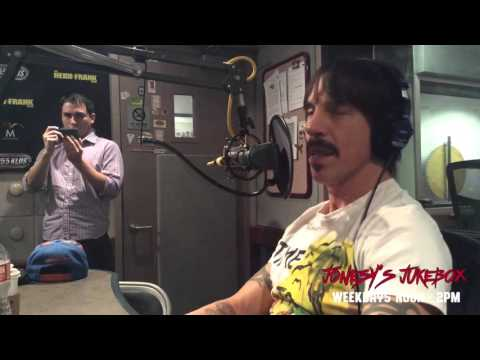 Anthony Kiedis In-Studio with Jonesy